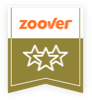 Zoover rating label